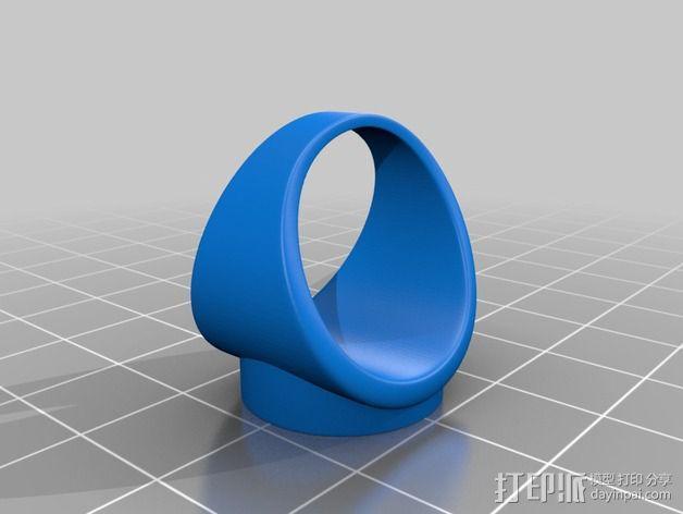 拯救行星 戒指 3D模型  图4