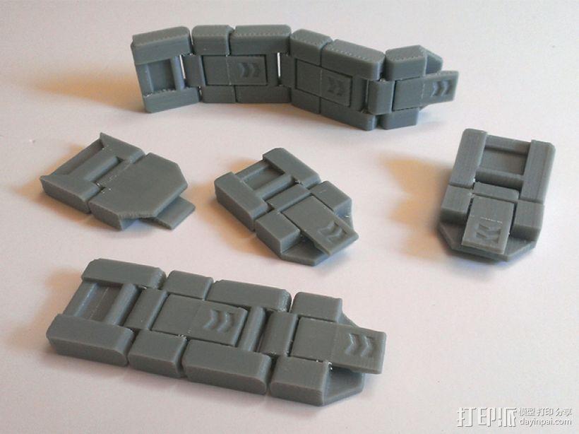 JC 铰链扣 3D模型  图1