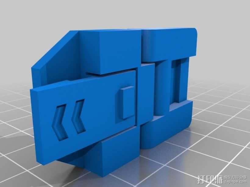 JC 铰链扣 3D模型  图2