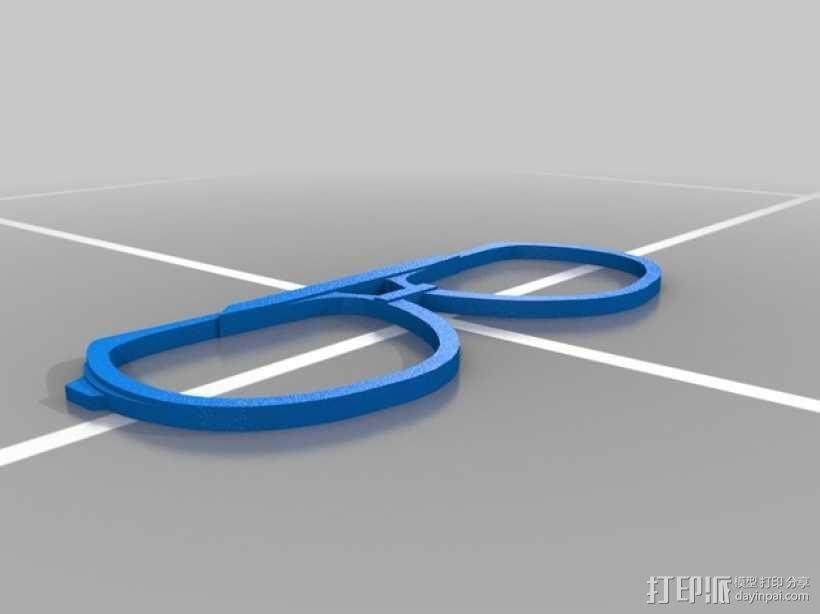 古驰太阳镜 3D模型  图2