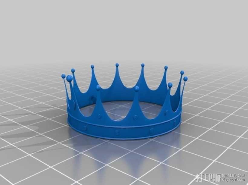黄金皇冠 3D模型  图2