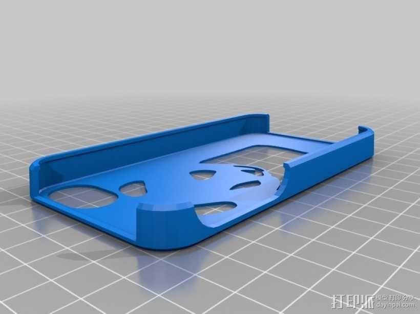 熊猫手机壳 3D模型  图1