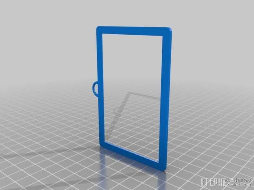 证件框 证件盒 3D模型  图3