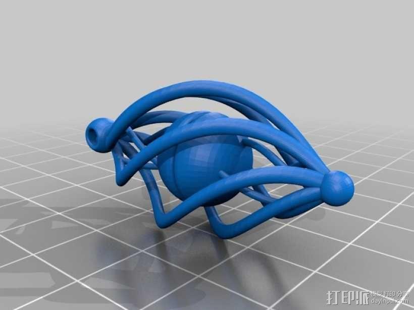 耳坠 3D模型  图2