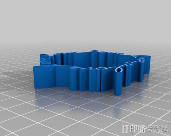 Love手环 3D模型  图2