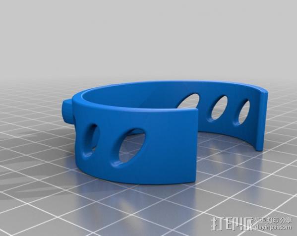 弹珠手环 3D模型  图2