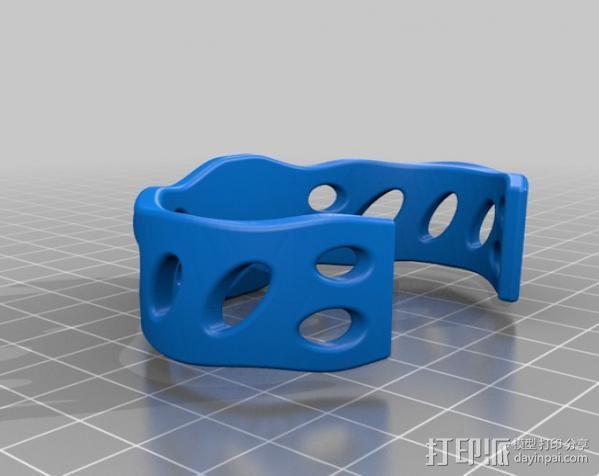 弹珠手环 3D模型  图3