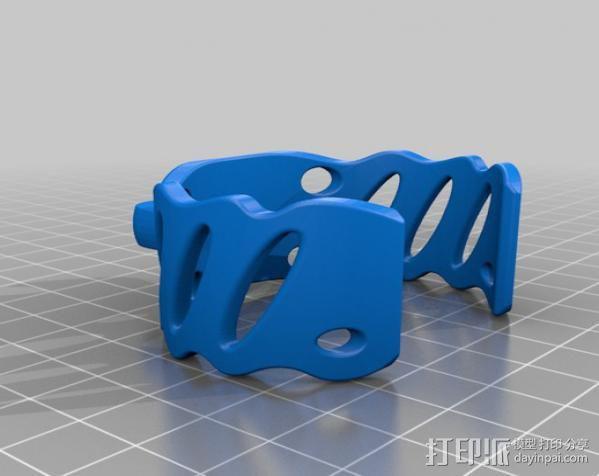 弹珠手环 3D模型  图4