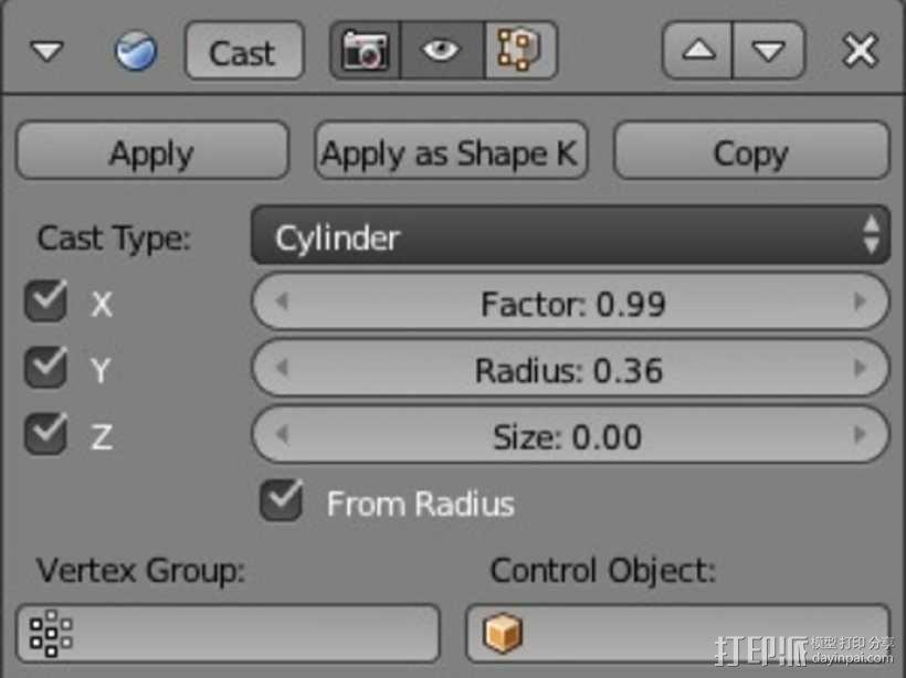 麻花辫手环 3D模型  图5