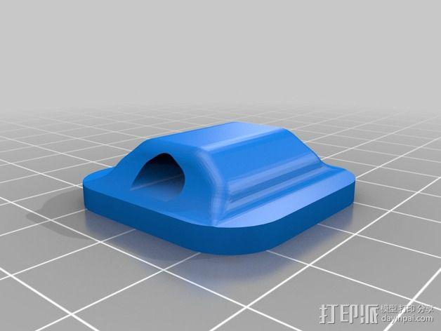 鞋带徽章 3D模型  图5