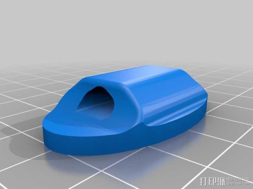 鞋带徽章 3D模型  图7