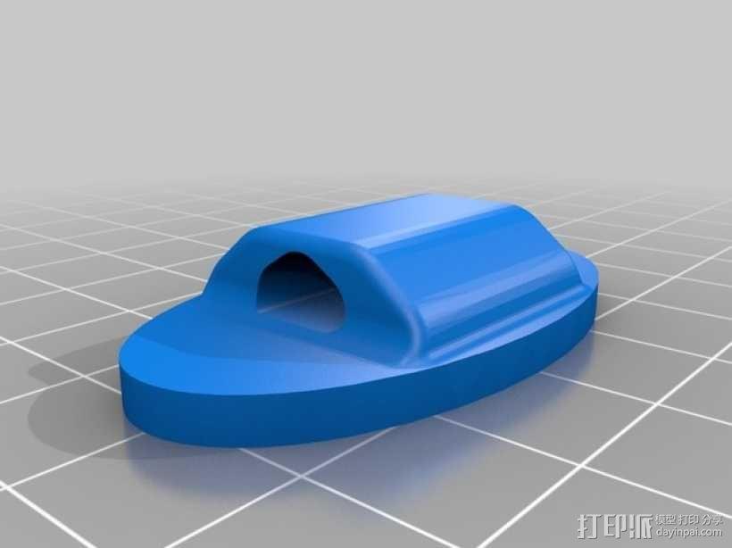 鞋带徽章 3D模型  图9