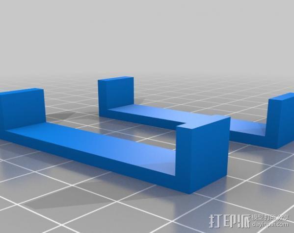 神奇女侠皮带头 3D模型  图3
