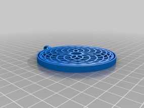 万花筒挂饰 3D模型
