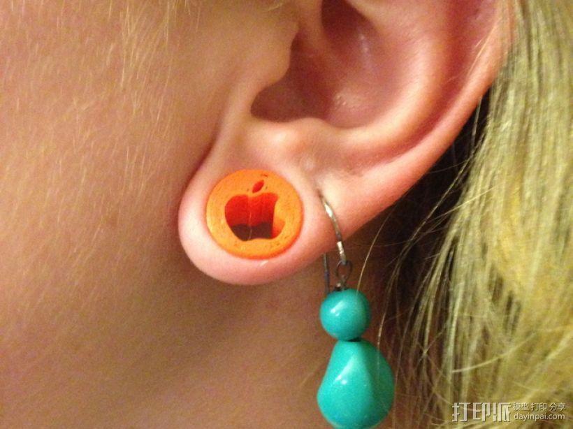 苹果/安卓耳塞 3D模型  图2