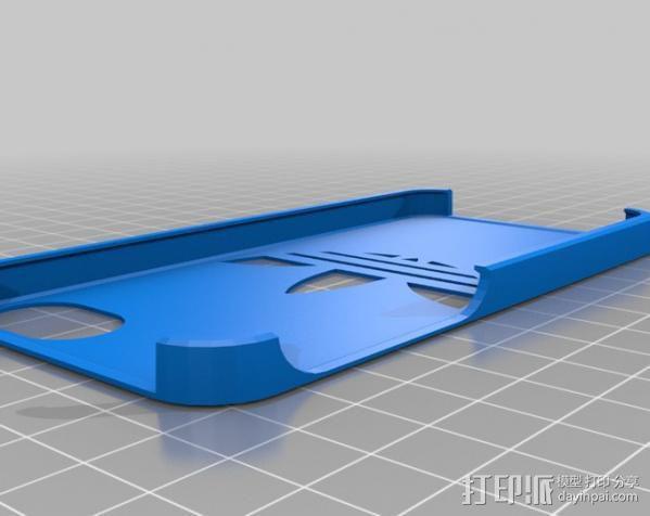 阿迪达斯iPhone5手机壳 3D模型  图1