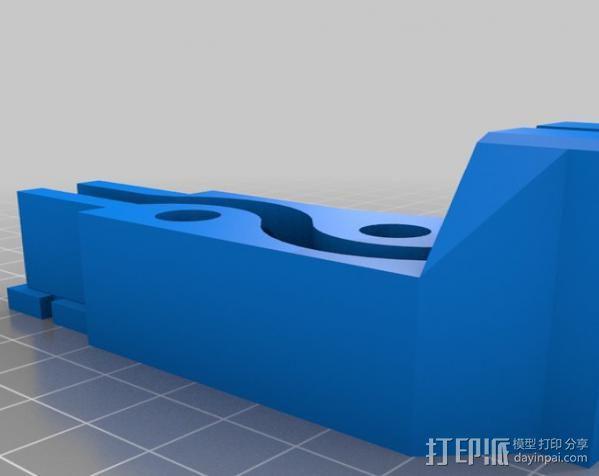 谷歌眼镜台 3D模型  图4