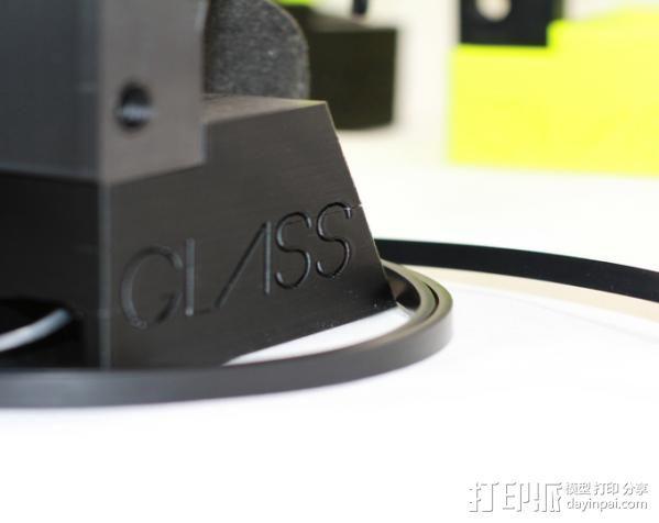谷歌眼镜台 3D模型  图9