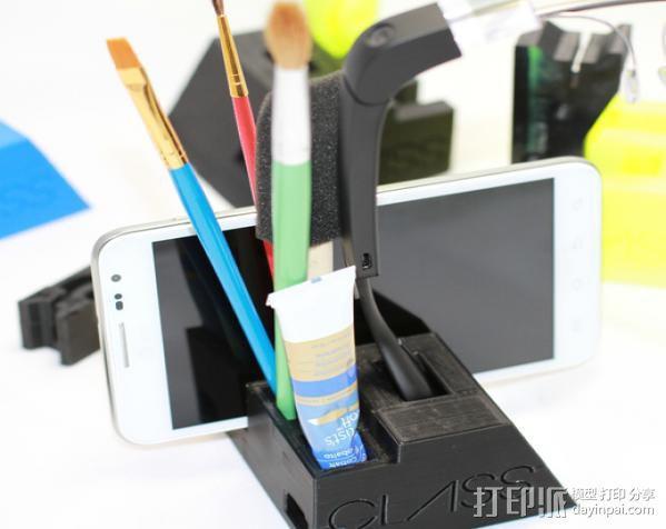 谷歌眼镜台 3D模型  图10