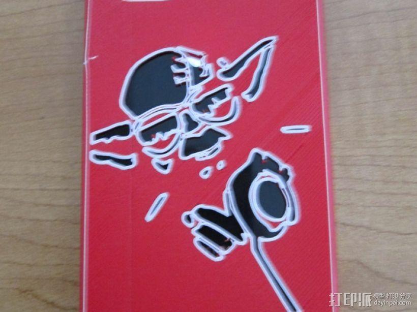 尤达大师iPhone4s手机套 3D模型  图1