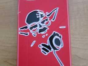 尤达大师iPhone4s手机套 3D模型