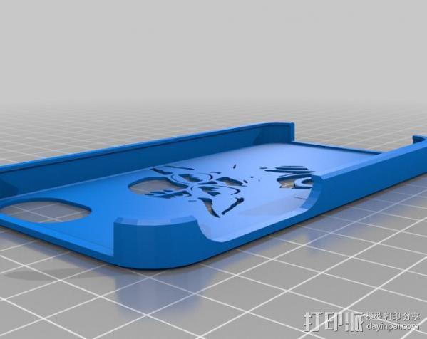 尤达大师iPhone4s手机套 3D模型  图2