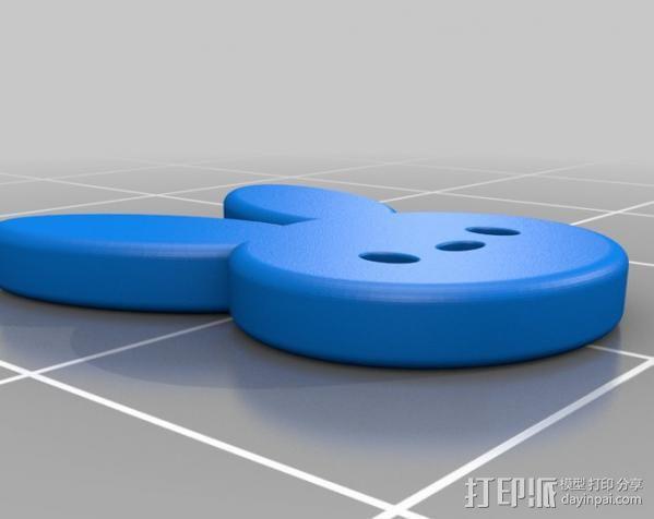 玩具戒指 3D模型  图4