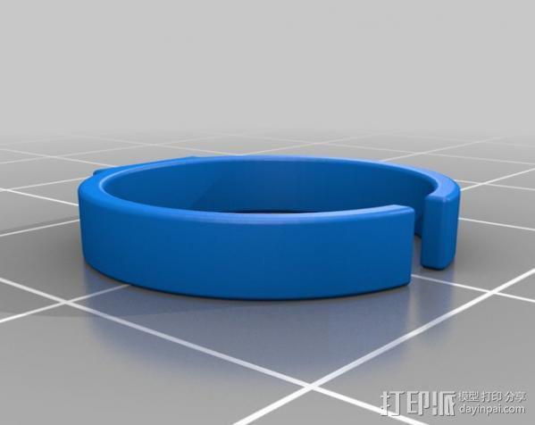 玩具戒指 3D模型  图3