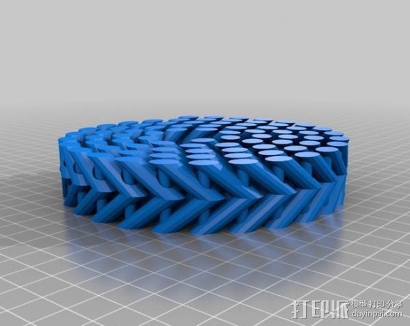 参数型螺旋块 3D模型  图1