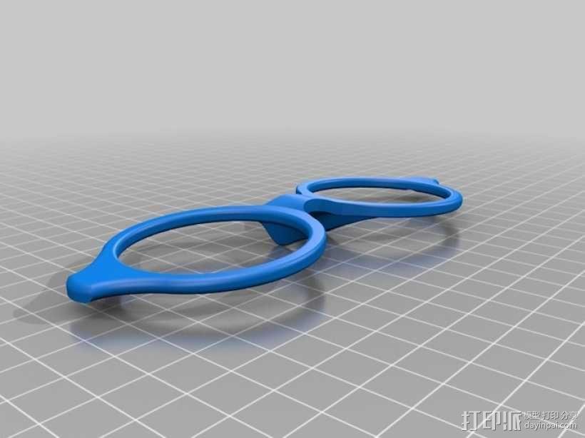 眼镜架 3D模型  图13