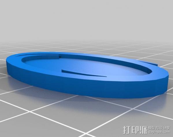 传送门 耳坠 3D模型  图2