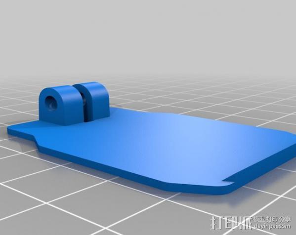 卡西欧手表袋 手表盒 3D模型  图2