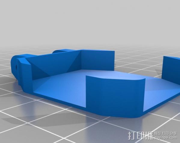 卡西欧手表袋 手表盒 3D模型  图3