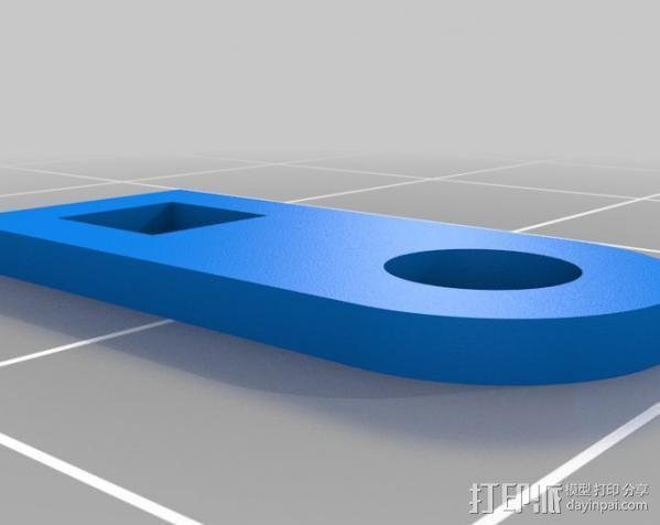 卡西欧手表袋 手表盒 3D模型  图4