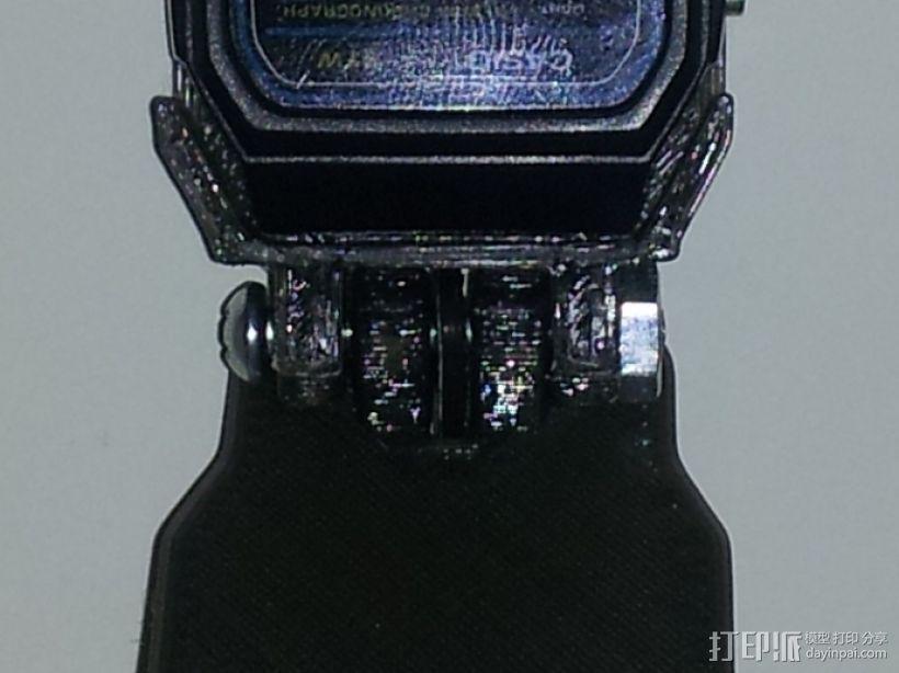 卡西欧手表袋 手表盒 3D模型  图6