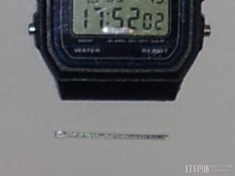 卡西欧手表袋 手表盒 3D模型  图7