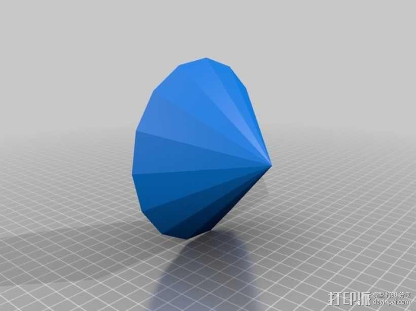 钻石 3D模型  图1