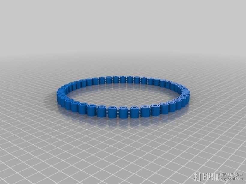 我的定制手环 3D模型  图1