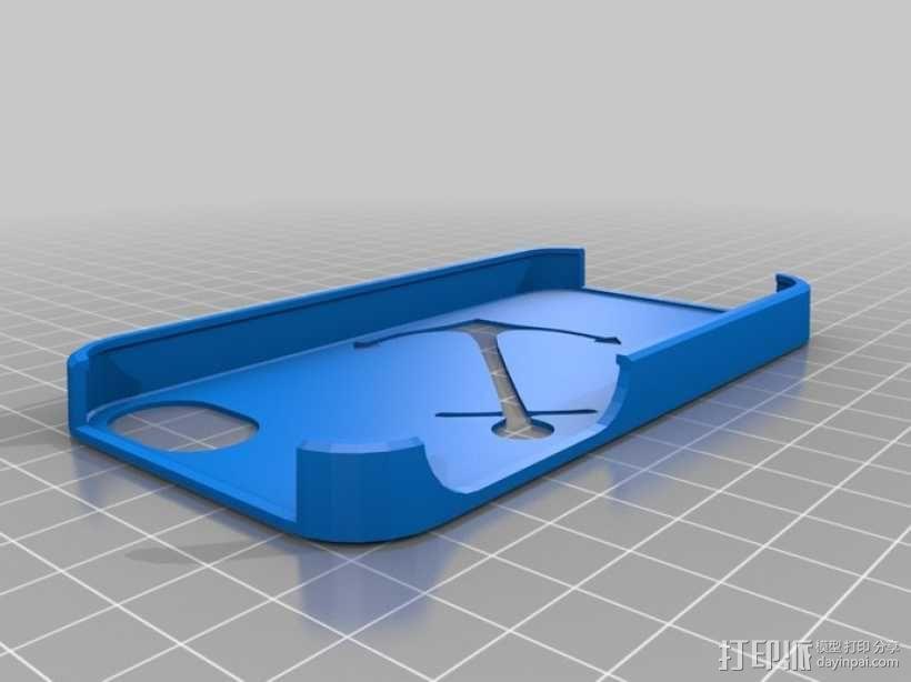 我的定制苹果外壳 3D模型  图1