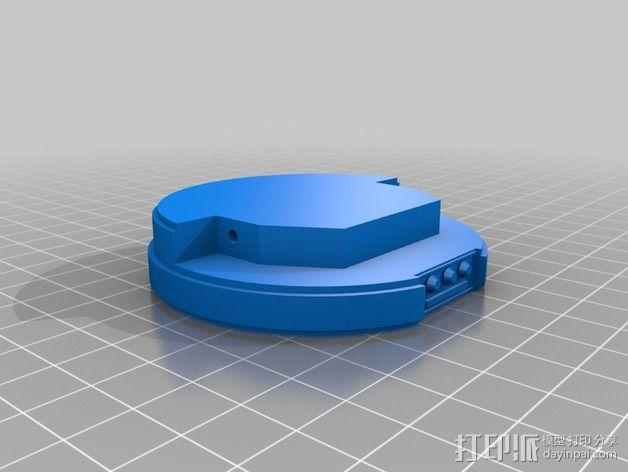星球大战手榴弹 3D模型  图2