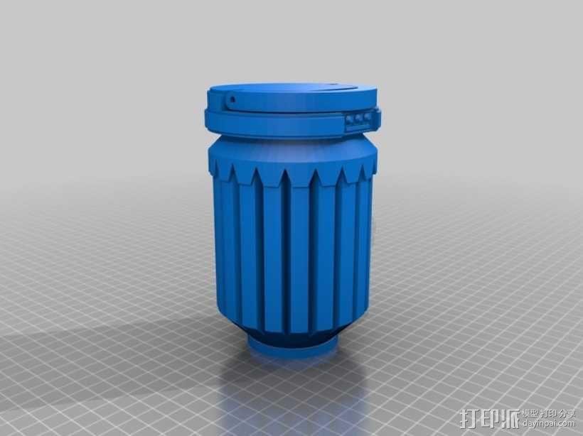 星球大战手榴弹 3D模型  图1