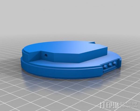 星球大战手榴弹 3D模型  图5