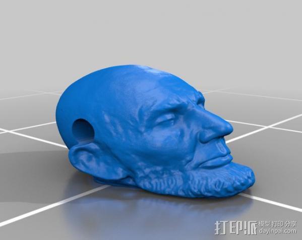 林肯项链 3D模型  图2