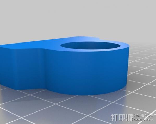 花盆戒指 3D模型  图3