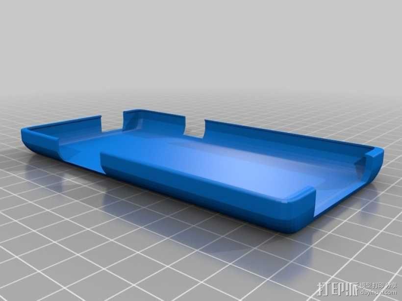 盖世2手机壳 3D模型  图2