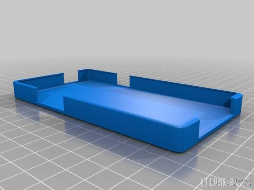 盖世2手机壳 3D模型  图3