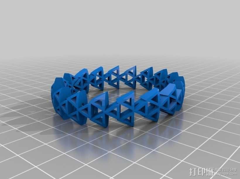 手环 3D模型  图1