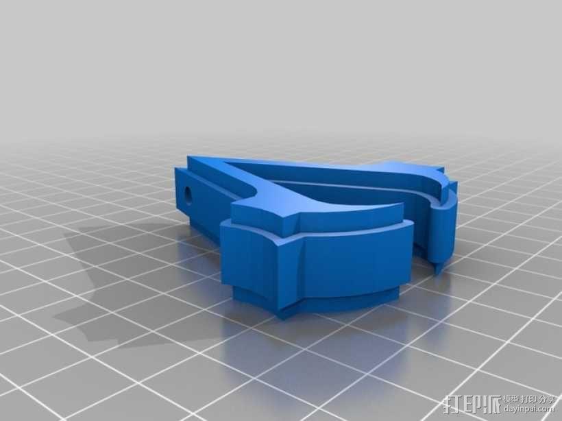刺客信条3钥匙链 3D模型  图2