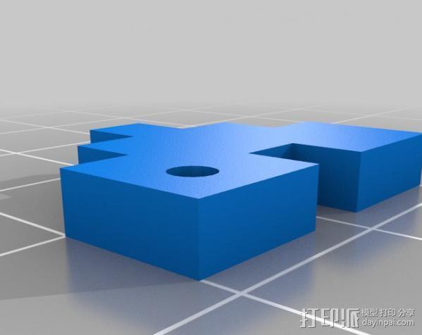Rails Girls心形标志 3D模型  图5