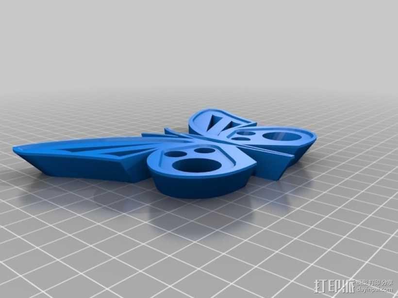 蝴蝶模型 3D模型  图1